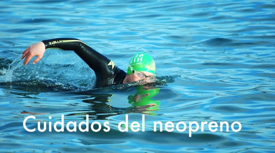 Cuidados del neopreno de natación