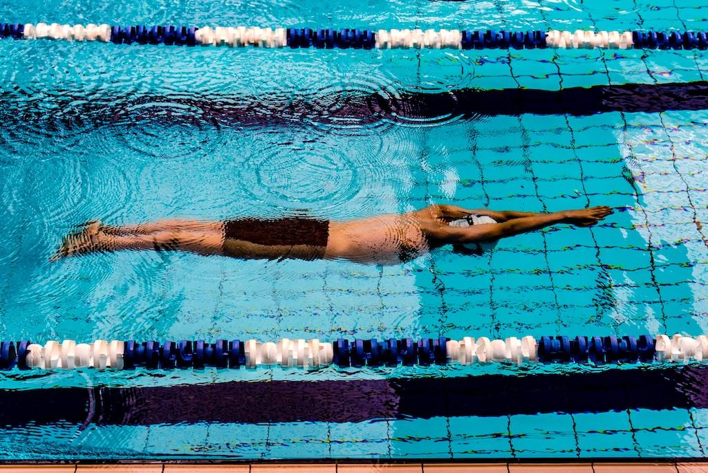 giros en natación
