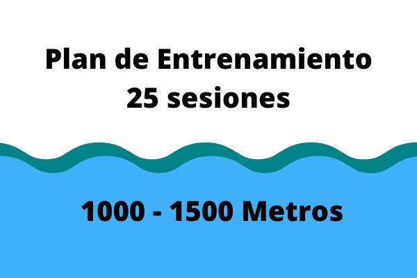 Entrenamiento Adelgazar 1000-1500 metros