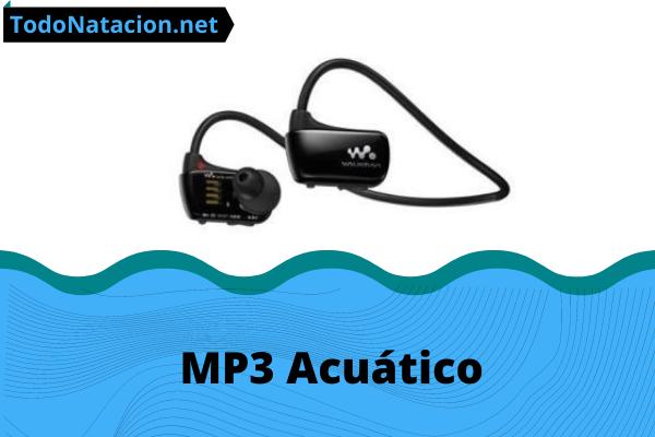 mp3 acuatico