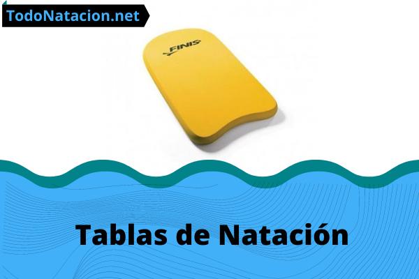 tabla de natación