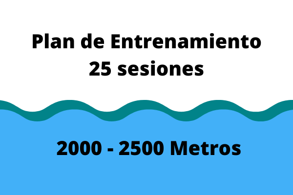 Entrenamiento Adelgazar 2000-2500 metros